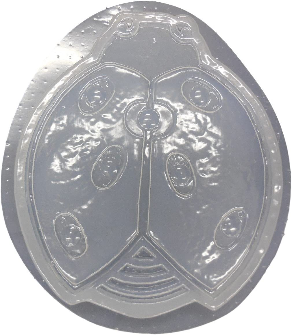 """Cat stepping stone mold concrete plaster mould 11/"""" x over 1/"""" thick"""