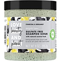 Love Beauty and Planet Delightful Detox Charcoal Shampoo Scrub - 8oz, pack of 1