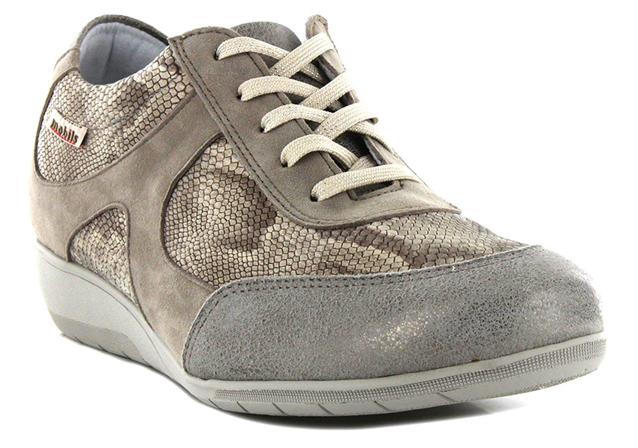 Mobils - Zapatos de Cordones de Otra Piel Mujer 38 EU|marrón