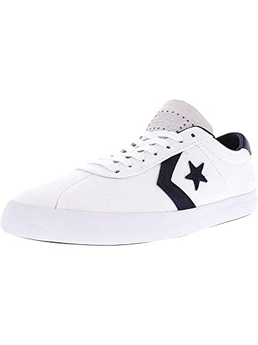d4da0b430242f1 Converse Breakpoint Pro Ox White Obsidian Ankle-High Canvas Fashion Sneaker  - 8.5M