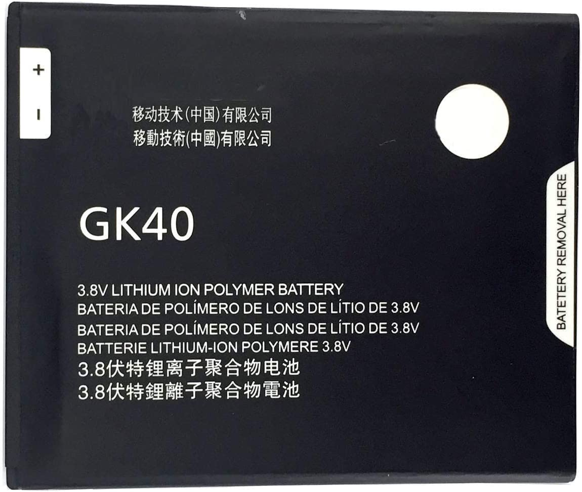for Sprint Motorola Moto E 4th Gen XT1766 Replacement Battery GK40