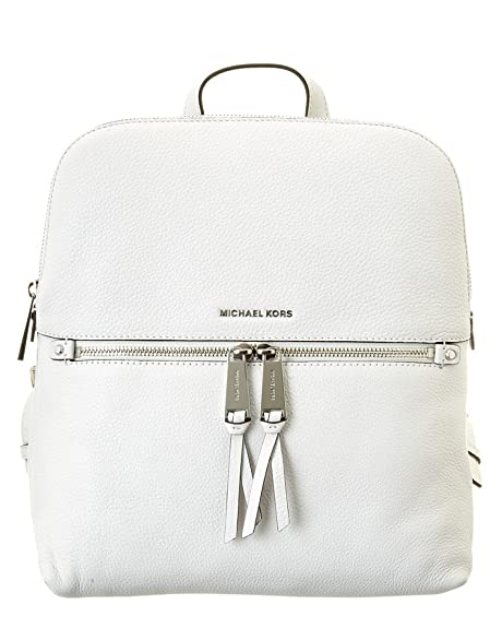 Michael Kors, Borsa a zainetto donna bianco Optic White