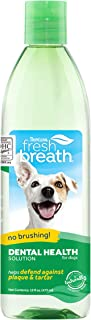 product image for Fresh Breath by TropiClean Oral Care Water Additive for Pets, 16oz - Made in USA