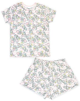 diventa nuovo stili classici ultimo design Disney Dumbo all Over Cute Donna/Donna Pigiama Vita Alta Set Corto