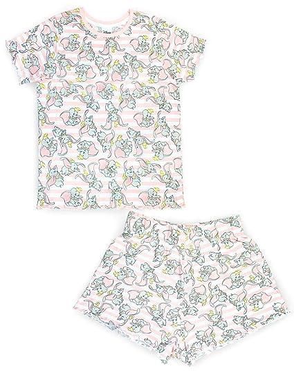 meilleur prix pour gros en ligne quantité limitée Disney Dumbo All Over Mignonne Femmes/Ladies Pyjamas Taille Haute Ensemble  De Shorts