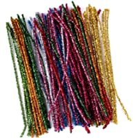 Limpiapipas juguete, 100unidades chenilla alambre para manualidades