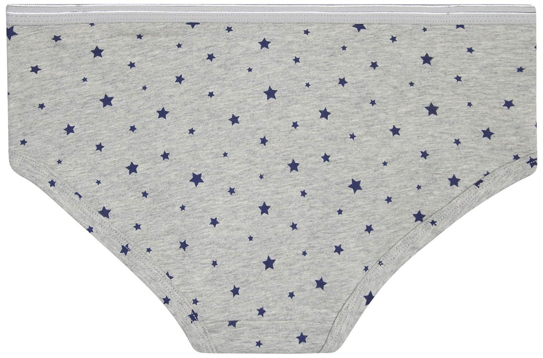 Rene Rofe Girls Cotton//Spandex Soft Stretch Hipster Underwear 6-Pack