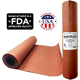 "Pink Butcher Kraft Paper Roll - 18"" x 175' (2100"") Peach Wrapping Paper for Beef Briskets - USA Made - All Natural FDA Approved Food Grade BBQ Meat Smoking Paper - Unbleached Unwaxed Uncoated Sheet"