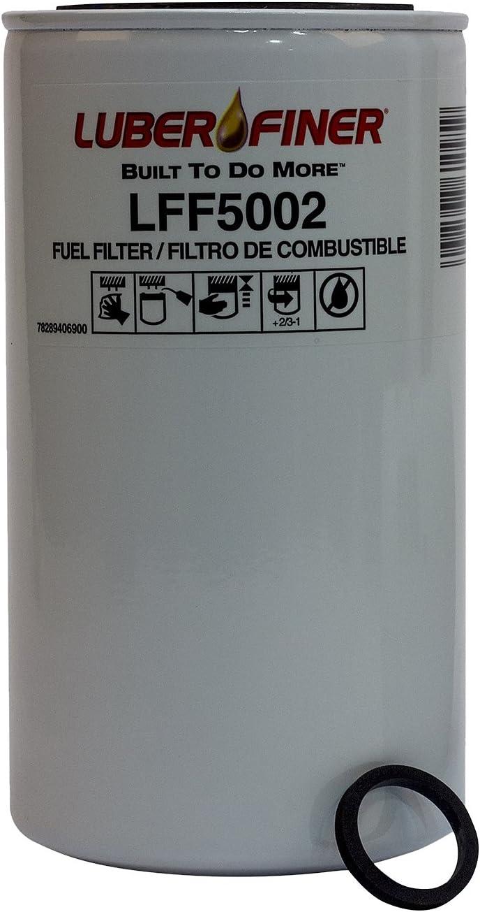 12 Pack Luber-finer LFF5002-12PK Heavy Duty Fuel Filter