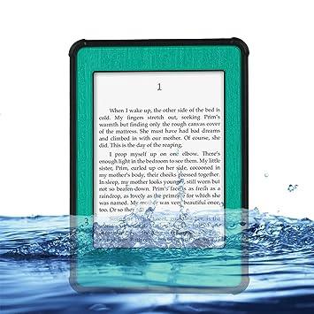 Artewa Paperwhite Kindle Funda impermeable hermético al polvo ...