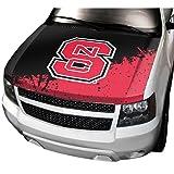 NCAA North Carolina State Auto Hood Cover, One