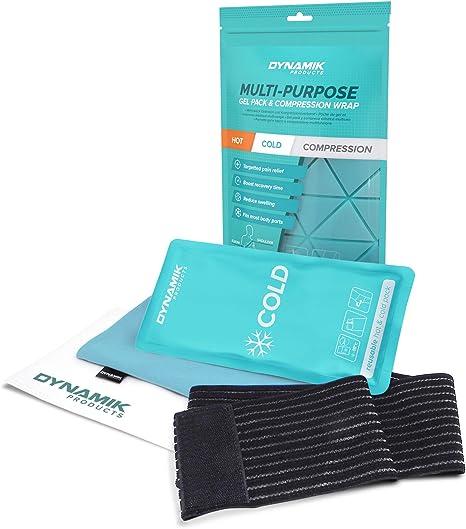 Dynamik Products paquete de hielo con correa: Amazon.es: Salud y ...