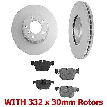 Mac Auto Parts 136681 34360 1.340 BR Disc Brake Rotor (2) 332MM Front Rotors