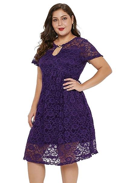 Amazon.com: GMHO - Vestido de cóctel para mujer, talla ...