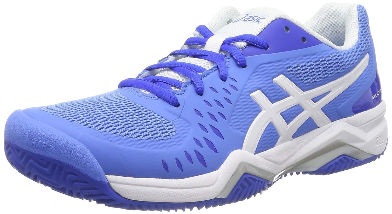 Bleu (bleu Coast blanc 404) 37 1 3 EU ASICS Gel-Challenger 12 Clay, Chaussures de Tennis Femme
