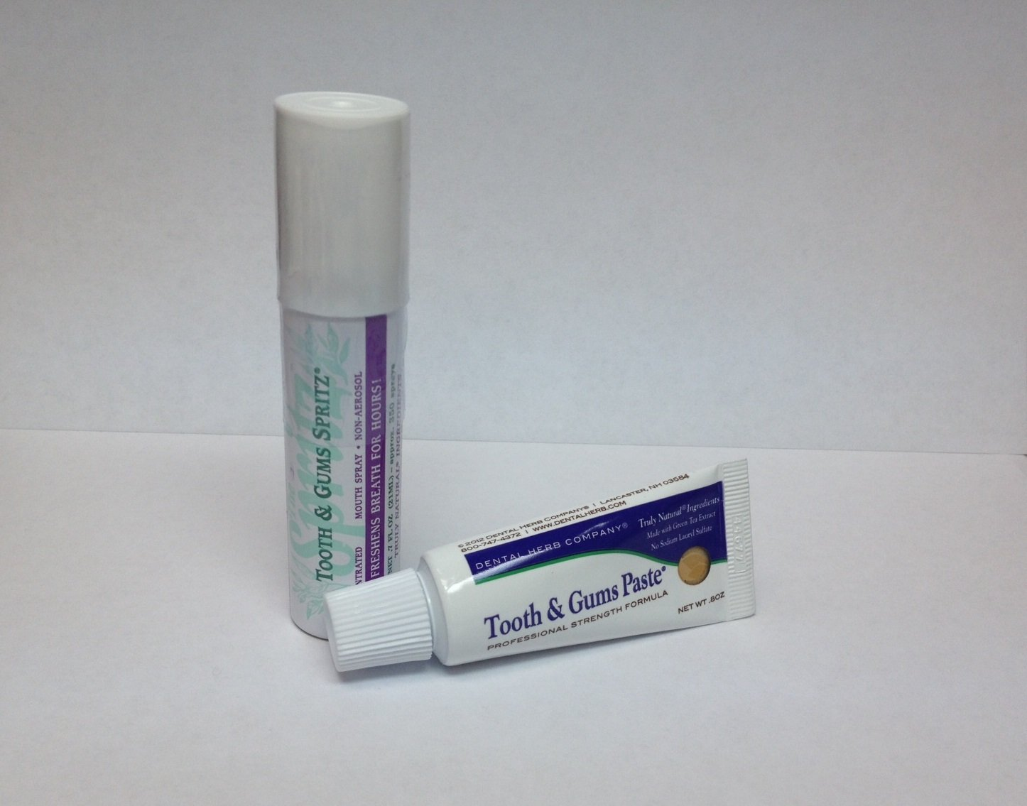 Value Pack - Spritz and Paste Travel Size by Dental Herb Company