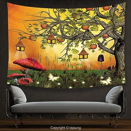 Amazon.com: House Decor Tapestry Fantasy House Decor Collection ...