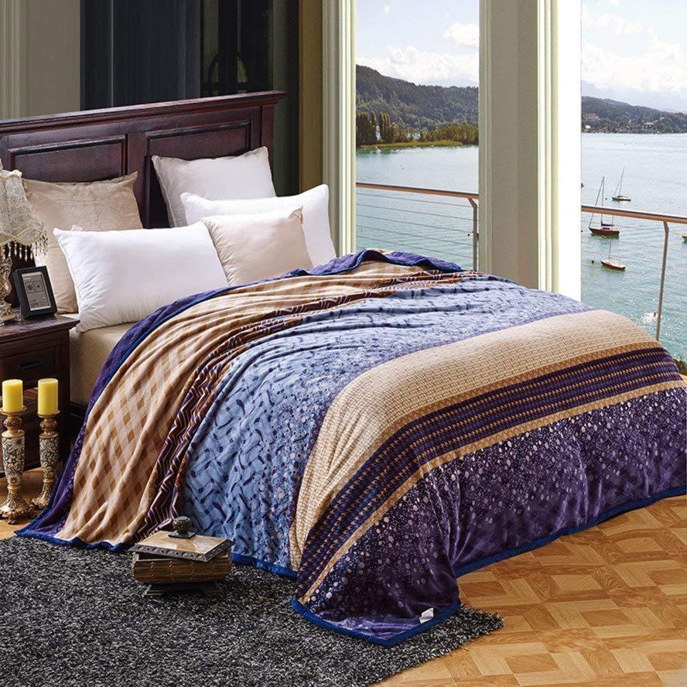 Mabmeiyang 冬の厚くなるフランネル毛布、暖かい単一の二重タオルのキルト毛布 (Color : 180x200cm(71x79inch), サイズ : Petite) B07SVTYN1G 180x200cm(71x79inch) Petite