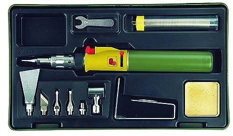 Proxxon 28144 Soldador/Micr oflam Gas Soldadura Juego MGS accesorios para trabajar con abierta Llama