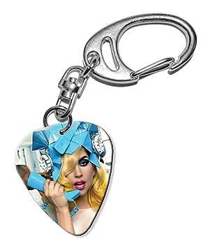 Lady Gaga Telephone Guitarra Plectro Keyring Llavero (F1 ...