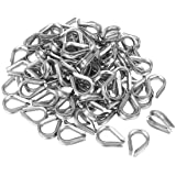uxcell 304 Stainless Steel Chain Thimble for