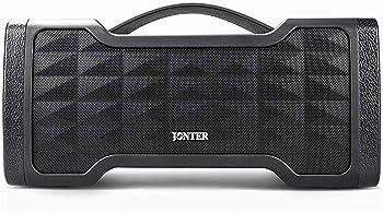 Jonter 24-Watt Portable Wireless Waterproof Bluetooth Speaker