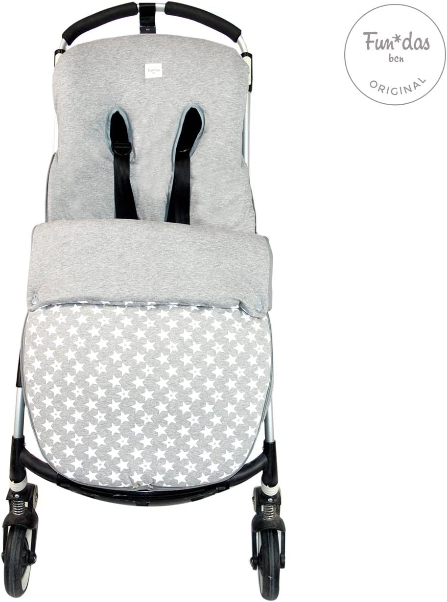 Entretiempo Saco Universal Algod/ón para Sillas de Paseo Baby Bat Fundas BCN /® S23//9099