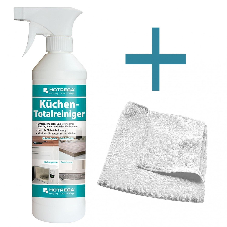Hotrega Kitchen Set Total Cleaner 500 Ml Microfibre Cloth 40 X 40