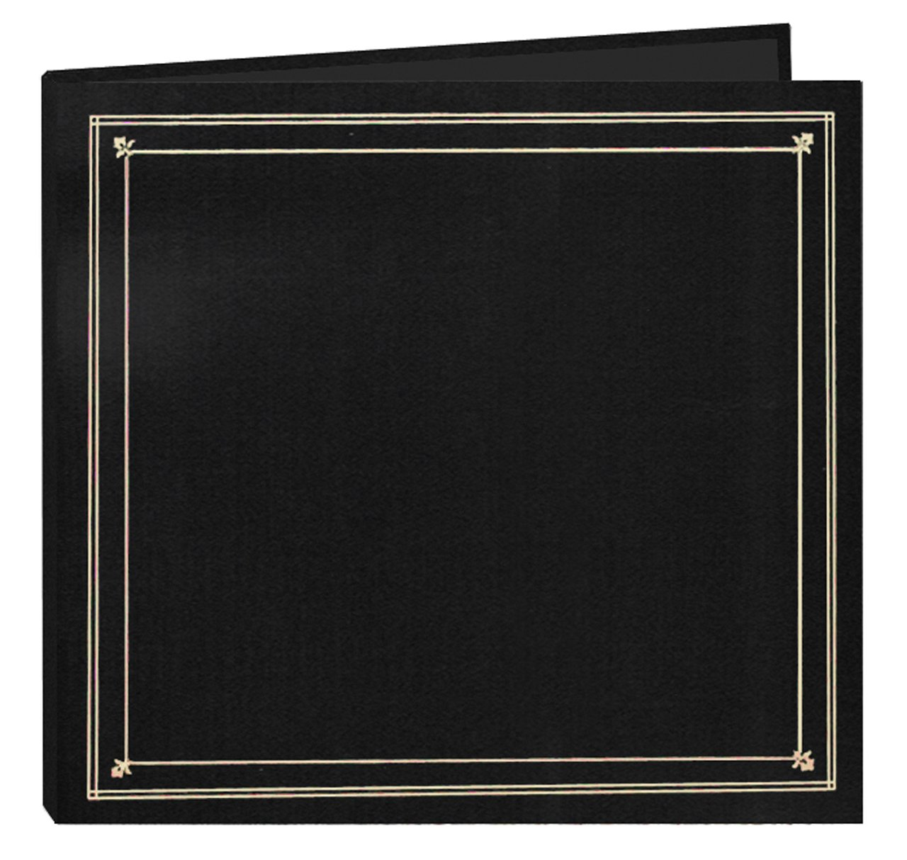Pioneer Photo Albums 204-Pocket Post Bound Leatherette Cover Photo Album for 4 by 6-Inch Prints, Black