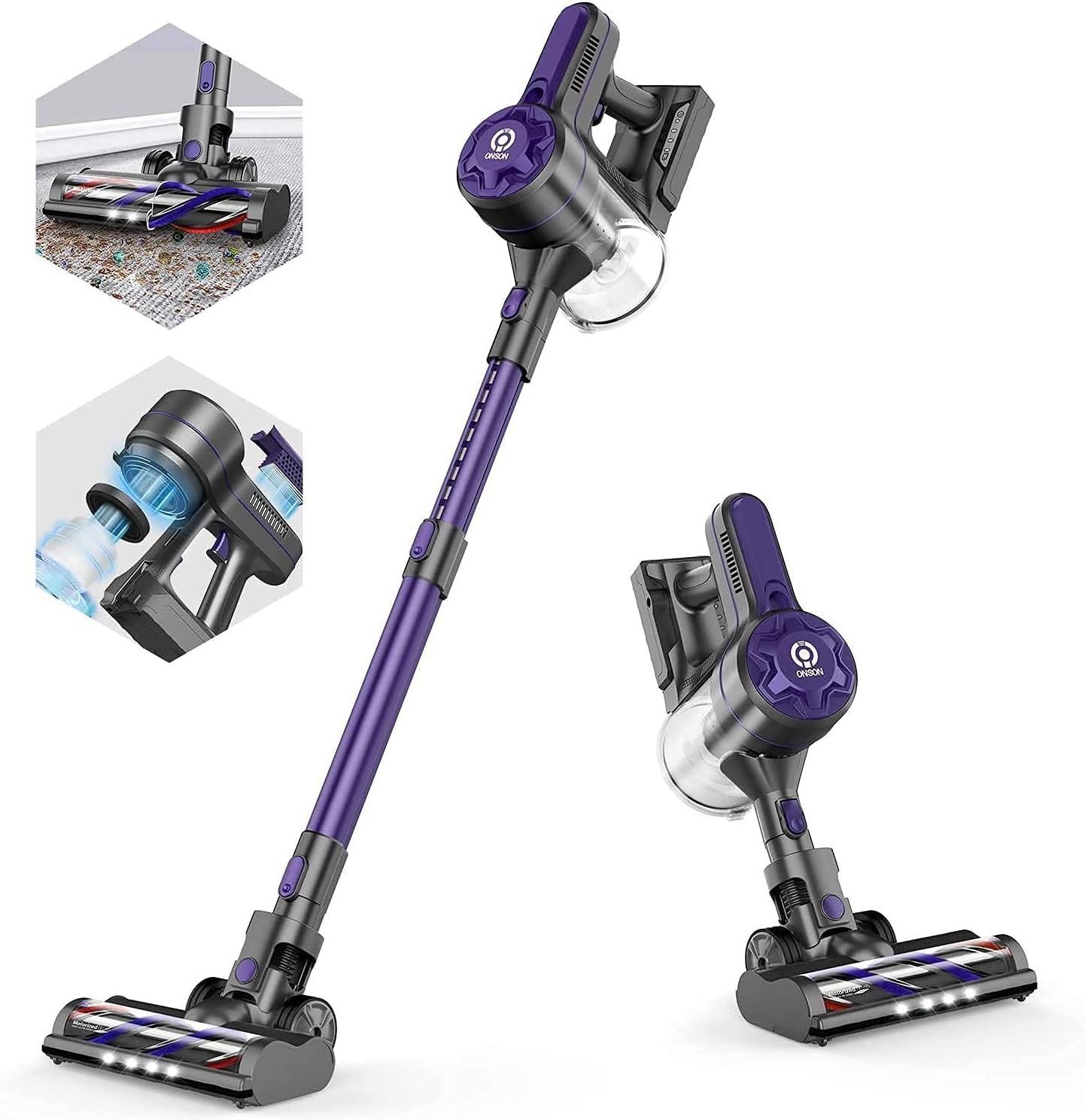 ONSON 20Kpa 80000 RPM Cordless Vacuum Cleaner $129.99 Coupon