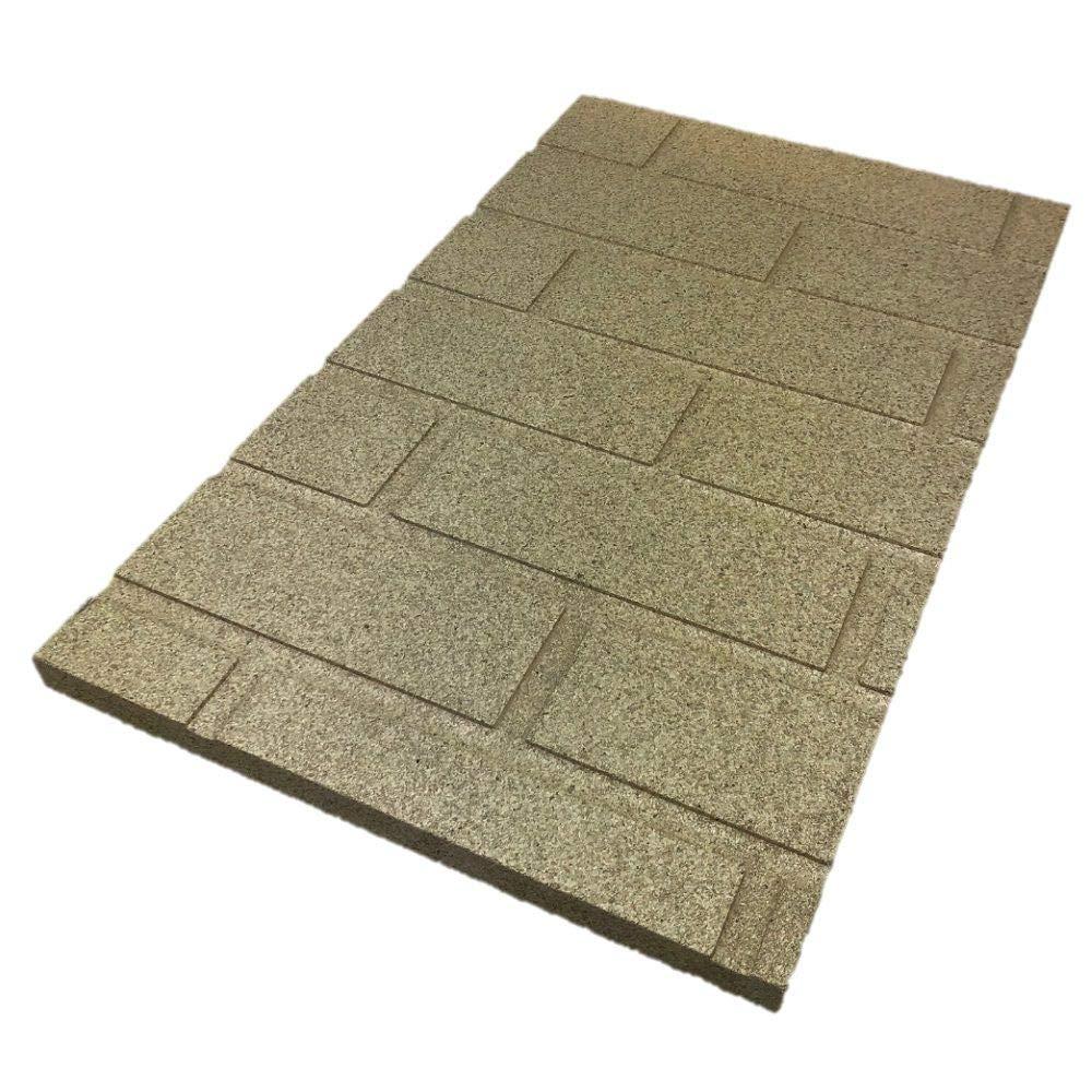 Flamado /® Sandstein Vermiculite Platten 300 x 200 x 30 mm Kaminofen Ersatzteile Feuerfeste Steine