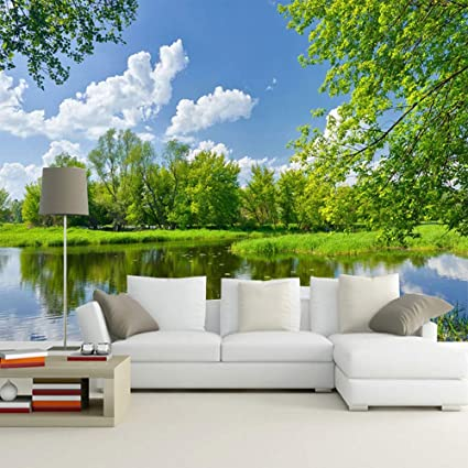 3d sky and landscapes nature wallpaper mural