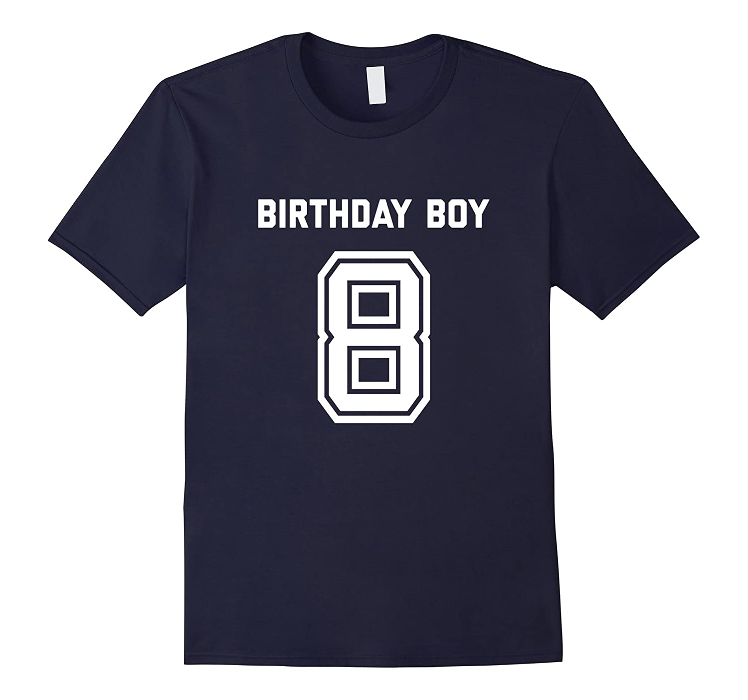 8th Birthday Shirt Gift Age 8 Year Old Boy Tshirt Boys Tee-BN