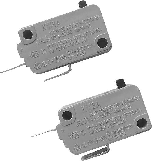 Amazon.com: Lonye KW3A - Interruptor de puerta de horno para ...
