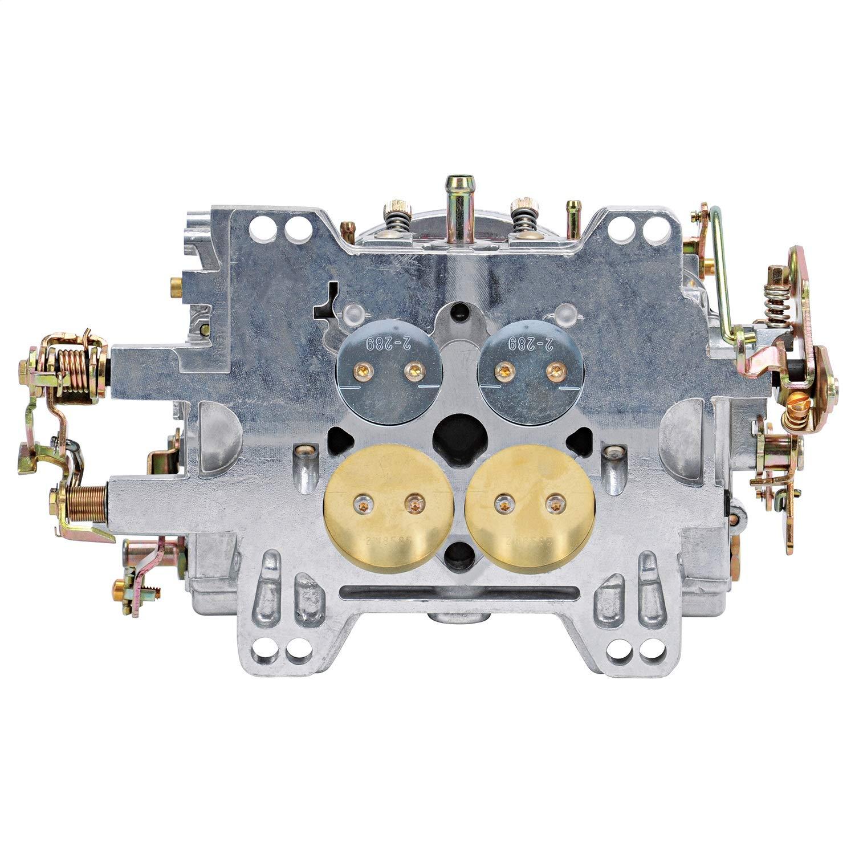Edelbrock 1905/AVS2/serie carburador 650/CFM Square brida non-egr Manual Choke Carburador de la serie AVS2