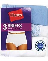 Hanes Women's Everyday Comfortable Cotton Briefs