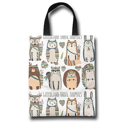 Reusable Foldable ECO Ladies Shopping Bag Animal Tote Handbag Fold AWAY Bag