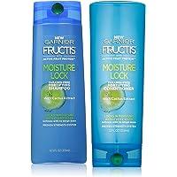 Garnier Fructis Moisture Lock Shampoo and Conditioner Duo Set 12 Ounce