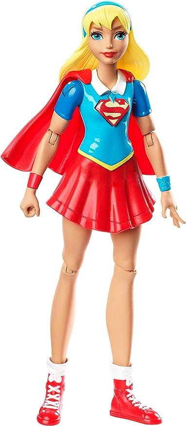 "DC Super Hero Girls Action Flying Supergirl Doll 6/"" Figure Childrens Kids Toy"