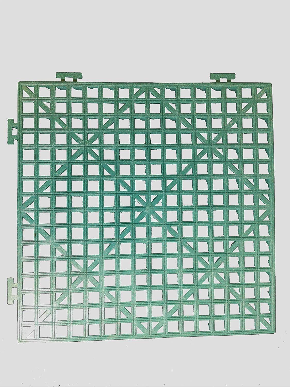 Quilted Bear MicroStitch Basting Grate Green Interlocking Design