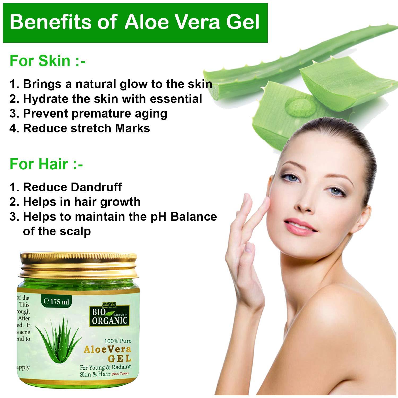 aloe vera gel uses for skin