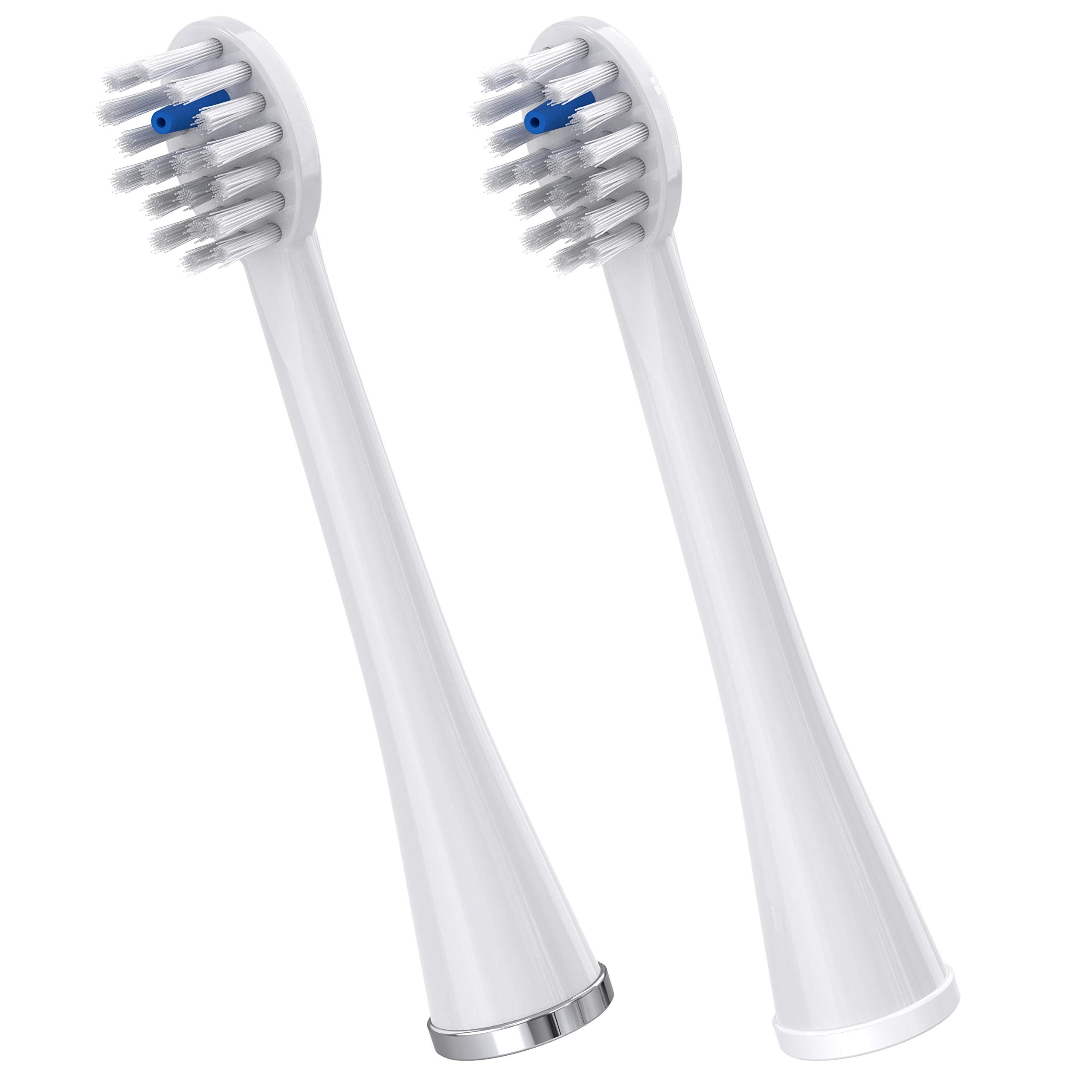 Waterpik Replacement Brush Heads for Sonic-Fusion Flossing Toothbrush SFRB-2EW, 2 Count White by Waterpik