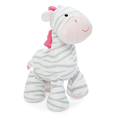 Sassy Carter's Plush Waggy Moving Musical Toy - Zebra: Toys & Games