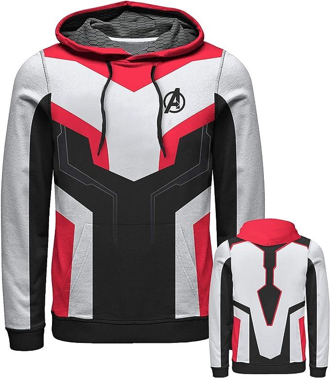 Marvel Comics Quantum Suit Men/'s Medium Hoodie Multi-Colour