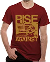 Loud Distribution Rise Against-Numb Men's T-Shirt