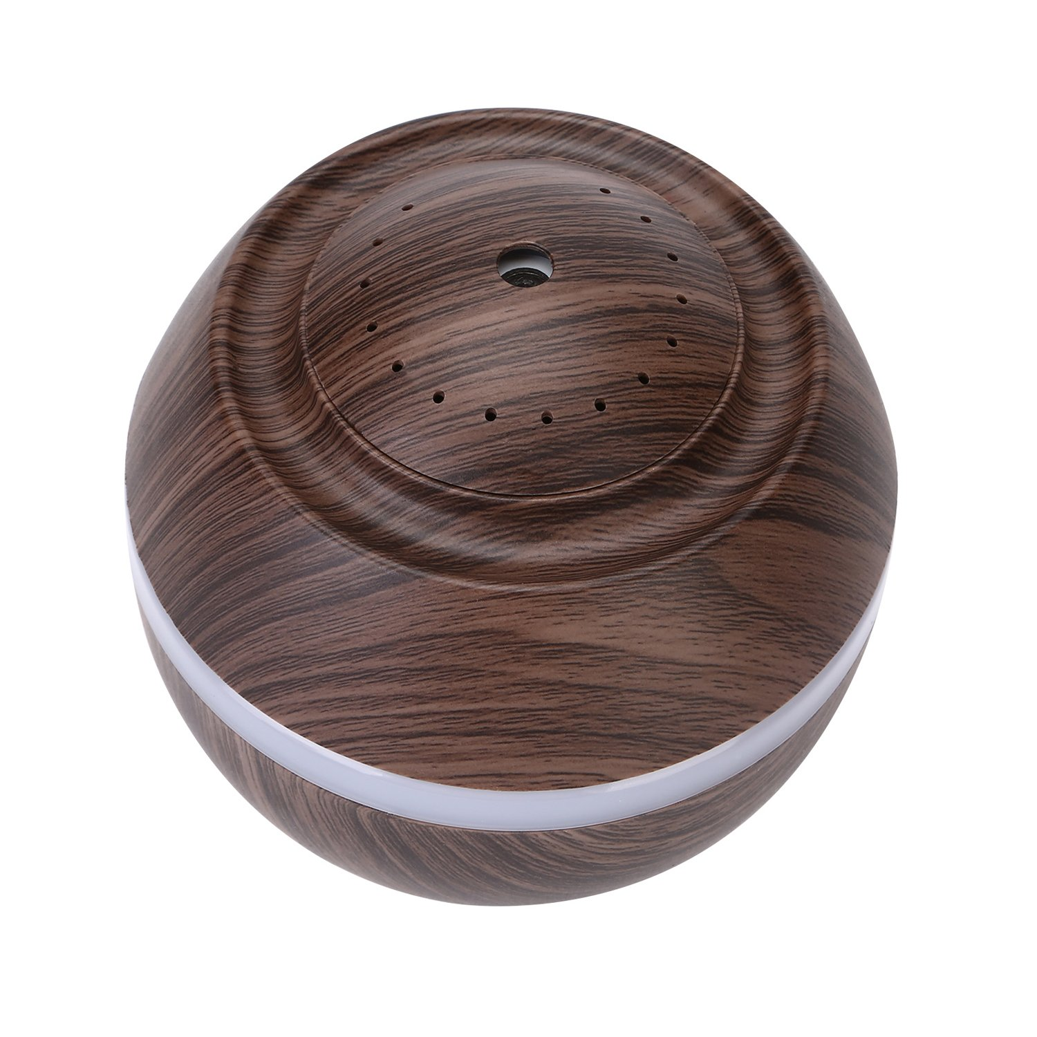 Cool Mist Humidifier Ultrasonic Aroma Essential Oil Diffuser for Office Home Bedroom Living Room Study Yoga Spa - Wood Grain (Brown) by O'abazar (Image #9)