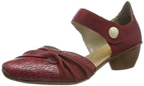 Rieker women pumps red 43722 35