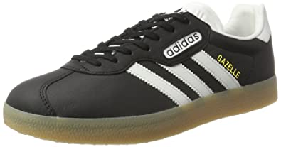 online store ba1e8 1556d adidas Men s s Gazelle Super Low-Top Sneakers, (Core Black Vintage White