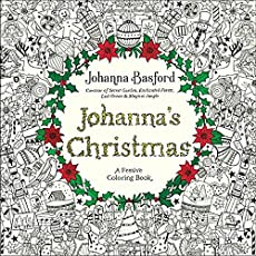 Johanna Basford Christmas Mini Coloring Book