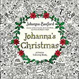 img - for Johanna's Christmas: A Festive Coloring Book for Adults book / textbook / text book